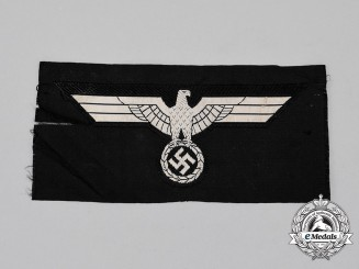 An Unissued Wehrmacht Panzer Breast Eagle