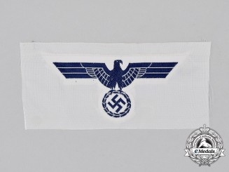 A Mint and Unissued Kriegsmarine Summer Tunic Breast Eagle