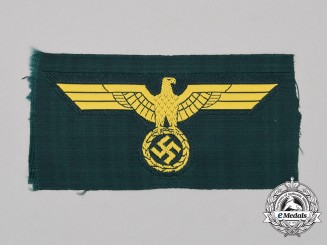 A Mint and Unissued Kriegsmarine Coastal Artillery Breast Eagle
