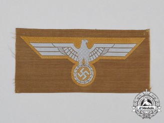 A Mint and Unissued Wehrmacht Heer (Army) DAK Tropical Breast Eagle