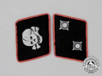 Germany, Waffen SS. A Set of Panzer Oberscharführer Rank Collar Tabs