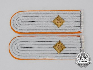 A Set of German Gendarmerie Oberleutnant Shoulder Boards