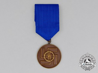 Germany, SS. An 8-Year Long Service Award, by Deschler