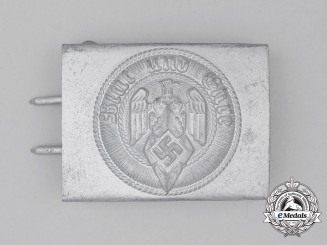 A HJ Member's Standard Issue Belt Buckle by Paul Cramer & Co. of Lüdenscheid