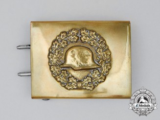 "A ""Der Stahlhelm"" Member's Belt Buckle; 1940 Issue"