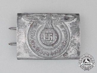 A SS EM/NCO's Standard Issue Belt Buckle