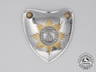 A Third Reich Period SS/SA Flag Bearer's Gorget