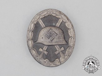 A Second War German Silver Grade Wound Badge by Carl Wild