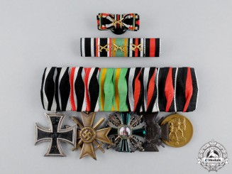 A First War Order of the Zähringen Lion Medal Bar