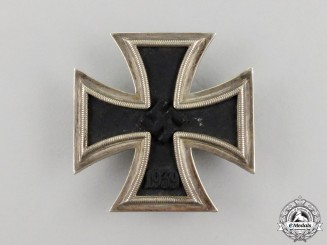 An Iron Cross 1939 First Class by Paul Meybauer of Berlin; Dated 27 Mai, 1944