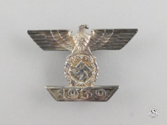 A Fine Quality Clasp to the Iron Cross 1939 First Class; Second Type