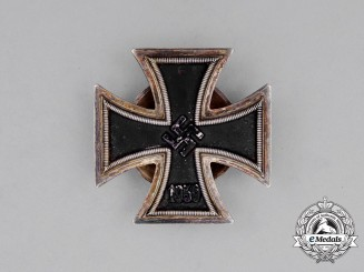 An Iron Cross 1939 First Class; Screwback Version