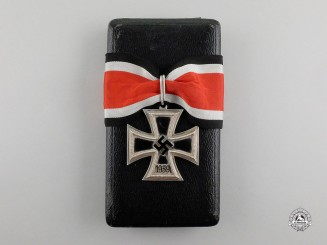 "A Knight's Cross of the Iron Cross 1939 by Steinhauer & Lück; Type-A Micro ""800"" Version"