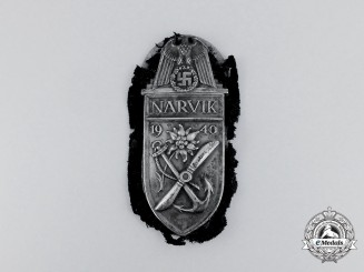 Germany. A Wehrmacht Heer (Army) Issue Narvik Campaign Shield