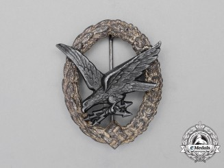 A Luftwaffe Radio Operator & Air Gunner Badge