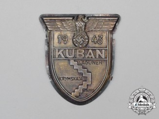 A Second War German Kuban Campaign Shield
