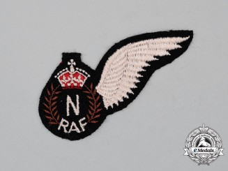 A Second War Royal Air Force (RAF) Navigator (N) Wing