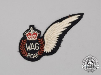 A Second War Royal Canadian Air Force (RCAF) Wireless/Air Gunner (WAG) Wing