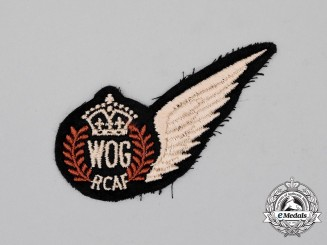 A Second War Royal Canadian Air Force (RCAF) Wireless Operator Ground (WOG) Wing