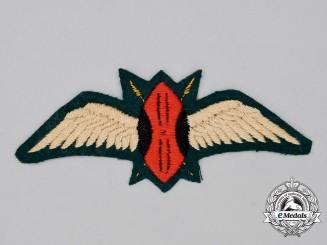 A Kenya Air Force (KAF) Pilot's Wing