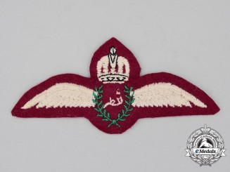 A Qatar Air Force Pilot's Wing