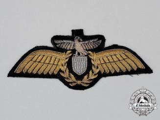 A Zambian Air Force (ZAF) Pilot's Wing