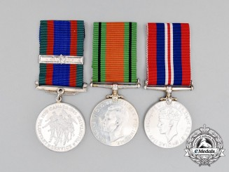 A Canadian Second War Group of Three