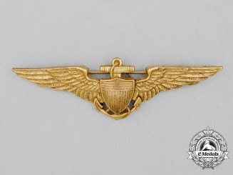 A 1919 Issue United States Navy (USN) Pilot Badge