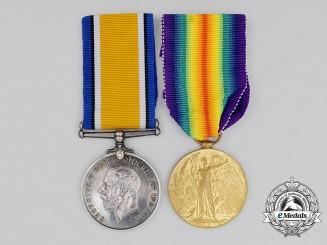 A First War Pair to Sergeant John Robert Lowder; Canadian Ordnance Corps