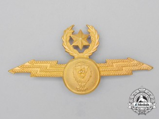An Ethiopian Air Force Pilot Badge