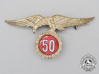 Spain, Facist State. An Army Parachutist 50 Jump Badge