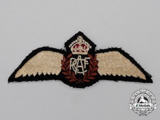 A Second War Royal Canadian Air Force (RCAF) Pilot's Wing