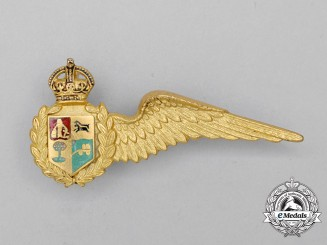 A South African Air Force (SAAF) Observer Mess Dress Half Wing