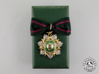 An English Made Order of the Star of Jordan; Commander, 3rd Class