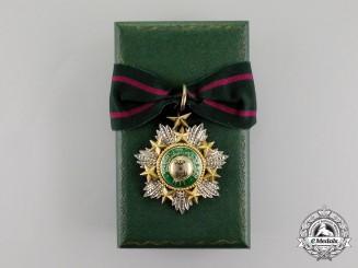 Jordan, Kingdom. An Order of the Star, III Class Commander, by Garrard & Co.