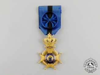 A Belgian Order of Leopold (Congo Type I), 1900-1908