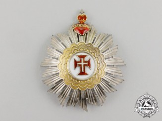 Portugal, Kingdom. A Military Order of Christ, Commander's Star, by J.A. DA Costa