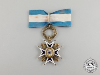 A Spanish Order of Charles III, 3rd Class, Commander