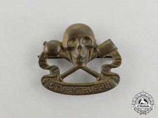 A First War Imperial German Storm Trooper (Sturmtruppe) Badge