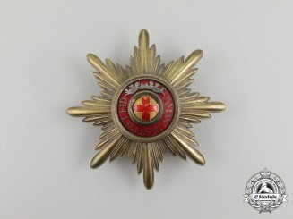 An Imperial Russian Order of St. Anne, 1st Class Breast Star; Kerensky Provisional Government Period