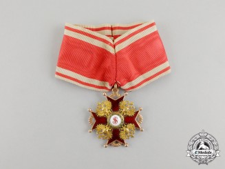 An Imperial Russian Order of St. Stanislaus, 2nd Class, c. 1870