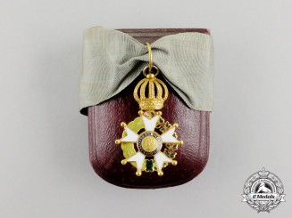 A Very Rare Brazilian Imperial Order of the Southern Cross, Knight, Type I (1822-1890)