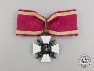 Italy, Kingdom. An Order of the Roman Eagle, III Class Commander with Swords, c.1942
