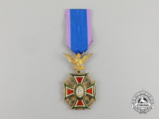 A Mexican Imperial Order of Guadalupe; 3rd Class in Gold (1865-1867)