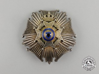 Belgium, Kingdom. An Order of Leopold, Grand Officer Breast Star c.1840
