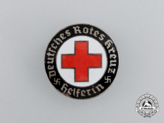 An Association of the Sisters of the German Red Cross Membership Badge by Hermann Aurich