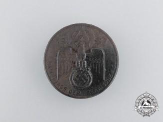 A 1937 SA Franken Championships Badge