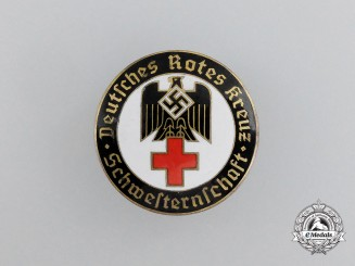 A Brandenburg DRK (German Red Cross) Sisterhood Badge