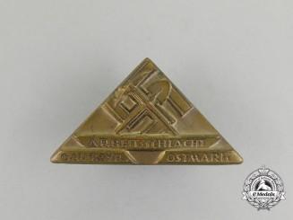 A Third Reich Period NS-Hago Ostmark Labour Badge