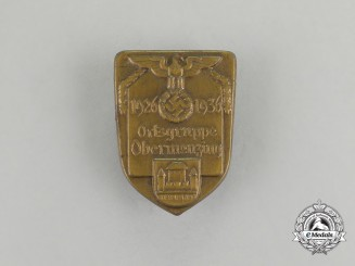 A 1936 10-Year Anniversary of NSDAP in Obermenzing Badge